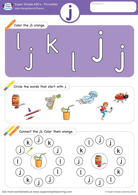 letter recognition phonics worksheet  lowercase super simple