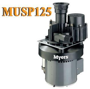 under sink utility pump myers utility pumps musp125 utility sink pump musp125