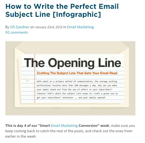 8 studies on how to create winning email subject lines