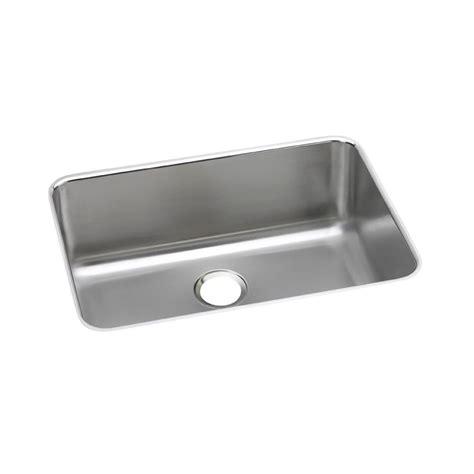 27 undermount kitchen sink elkay lustertone undermount stainless steel 27 in single 3847