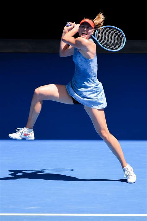 Maria Sharapova Australian Open 01/20/2019