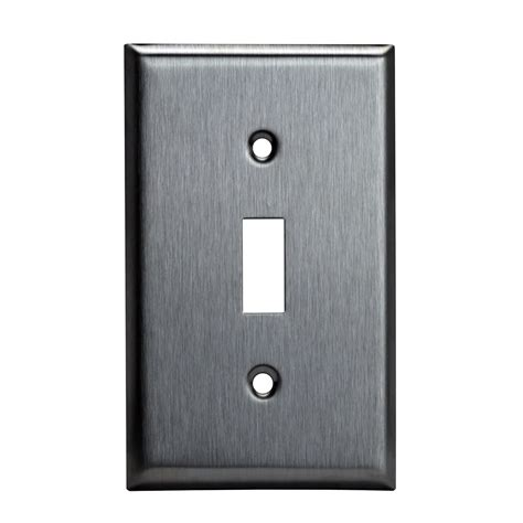 light outlet cover 10 pk stainless steel wall plate single 1 toggle