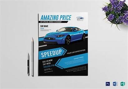 Flyer Template Sales Automotive Templates Flyers Mega
