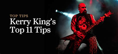 kerry kings top  heavy metal guitar tips  guitar magazine