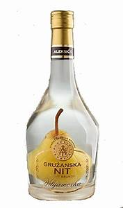 Gruzanska zlatna nit Williams Pear Brandy With Ripe Pear ...