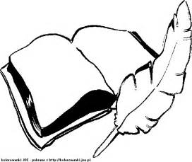 Quill Coloring Page