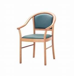 Stühle Aus Holz : sessel mit armlehnen aus buchenholz f r den objektbereich idfdesign ~ Frokenaadalensverden.com Haus und Dekorationen