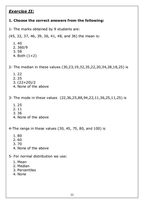 Math Mean Absolute Deviation Worksheet Answer Math Best Free Printable Worksheets