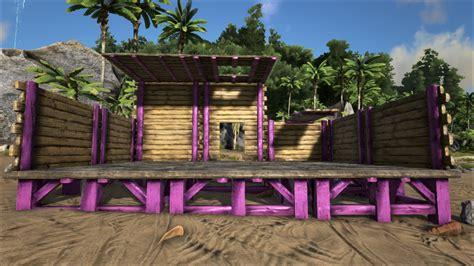 wooden foundation official ark survival evolved wiki