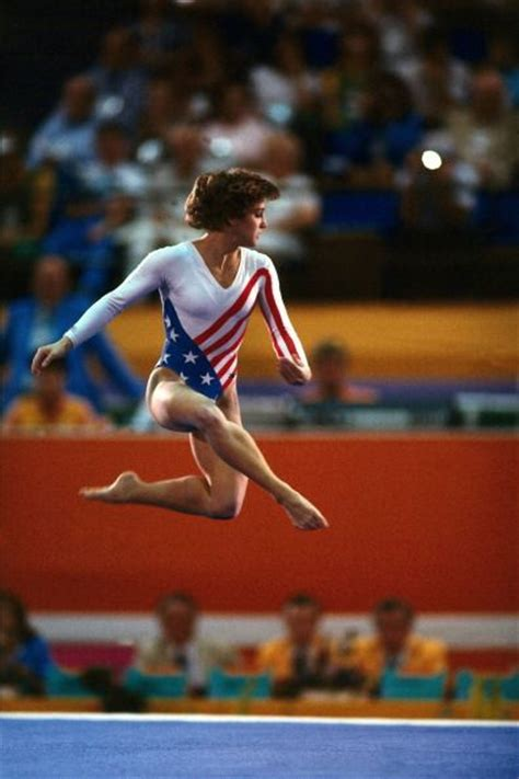 Lou Retton Olympic Floor Routine by 1000 Ideas About Lou Retton On 1984