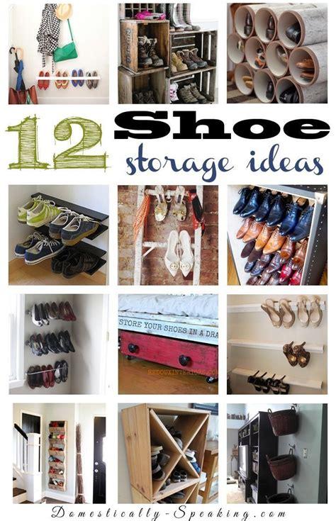 Closet Organization Ideas Shoes by 12 Shoe Organization Ideas Best Diy Ideas
