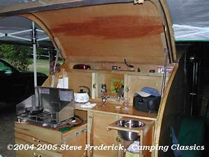 teardrop trailer interiors this won quotbest galleyquot at the With teardrop camper interior ideas