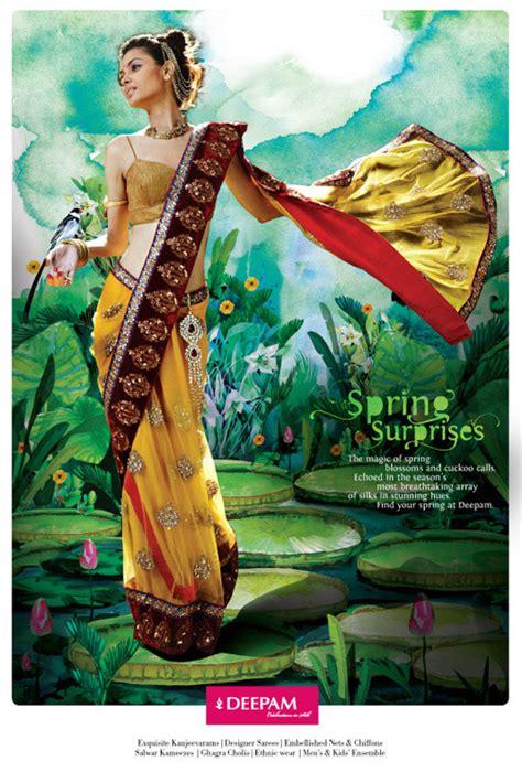deepam silks spring campaign yamini