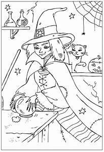halloween coloring pages: Wicked Witch Coloring Pages