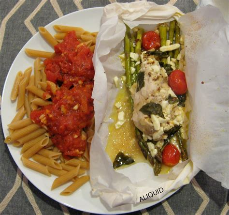 cuisine en papillote aliquid i made food mediterranean chicken en papillote