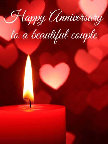 romantic night happy anniversary card birthday greeting cards  davia