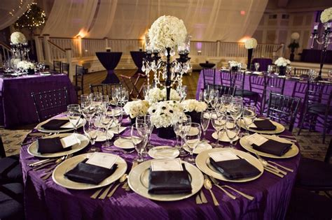 Purple And White Decoration For Wedding by Wedding Ideas On Pinterest