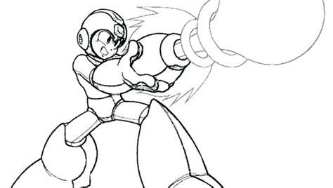 Mega Man Coloring Pages At Getcoloringscom Free