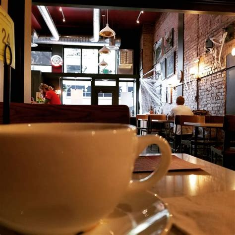 Coffee drinks would like a loyalty program that helps them earn and redeem rewards through the mobile app for convenience. #FlashbackFriday: Can you spot the spooky spin on Cherry Street Coffee House's decor in this ...
