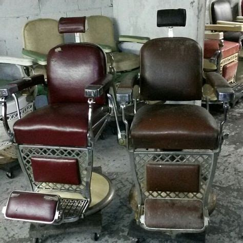 antique barber chairs on barber chair