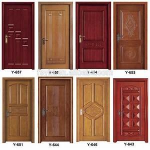 Polish Color Latest Design Solid Teak Wooden Door Price