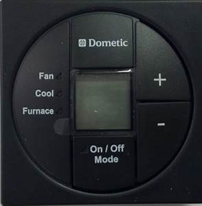 Dometic Single Control Kit Lcd Cool Furnace Thermostat