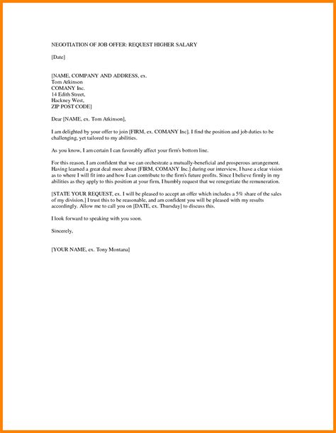counter offer letter samples sales slip template