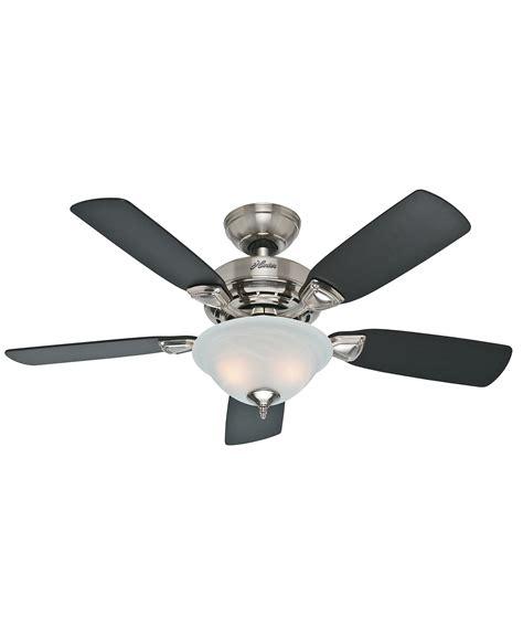 hunter fan ceiling fan light kit hunter fan 52081 caraway 44 inch ceiling fan with light