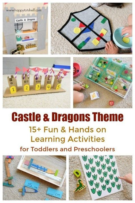 castle and dragons theme learning activities and learning 895 | 64ce7142571daa0b22bea3e733f2a9be