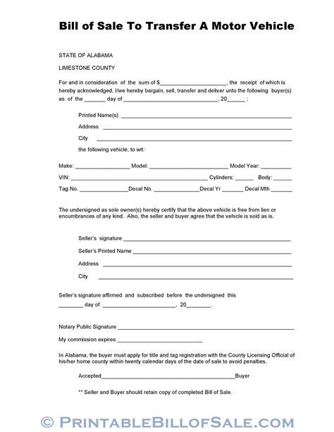 state massachusetts vehicle bill sale pdf