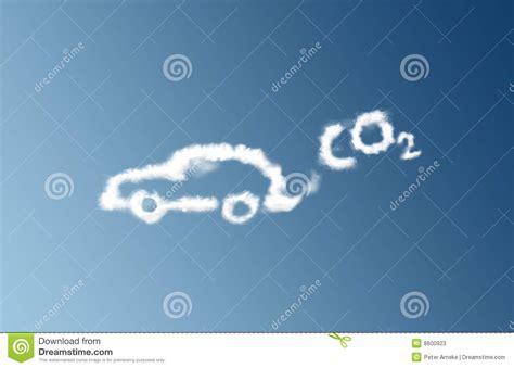 Co2 Car Emission Cloud Stock Photos  Image 8600923