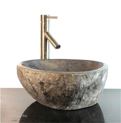 vessel sink countertops sale riverstone granite boulder vessel sink counter top wbt7