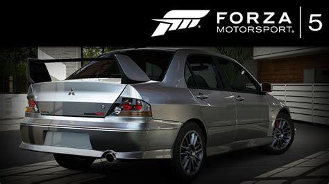 Forza 5 Mitsubishi Lancer Evo 8 Mr 2004 Forzavista +1 Lap