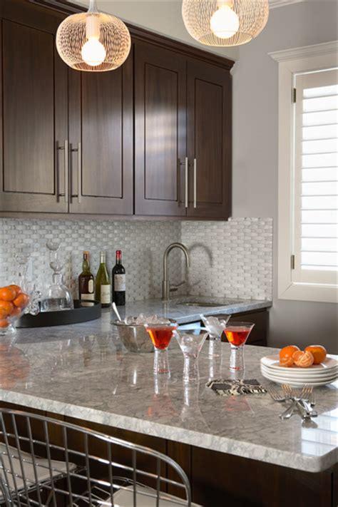 chocolate brown kitchen cabinets contemporary kitchen