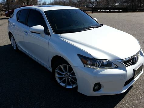 lexus hybrid 2012 2012 lexus ct200h hybrid 42mpg seats 5 hatchback all
