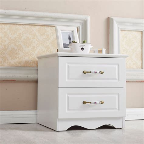 White Simple Nightstand by Brand New Woodn Bedside Table White Drawer Nightstand