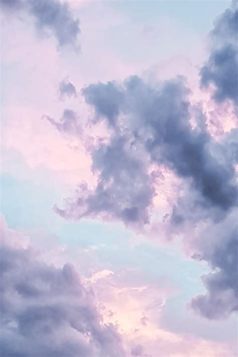 Pastel Wallpaper Comulus Clouds Wallpaper For You The