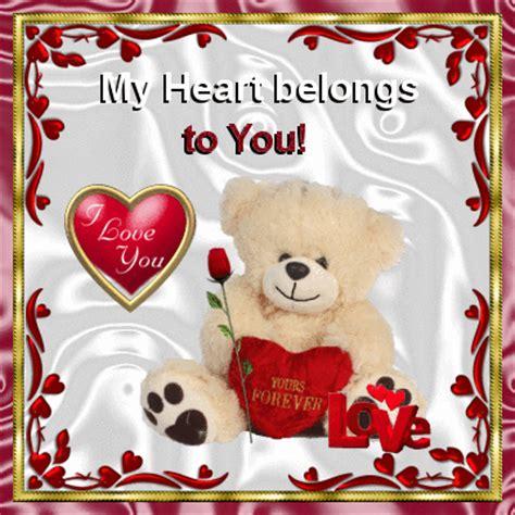 heart belongs     love  ecards greeting