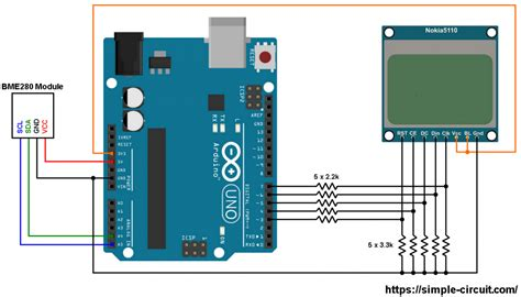 Arduino Weather Station With Bme Sensor Nokia Lcd