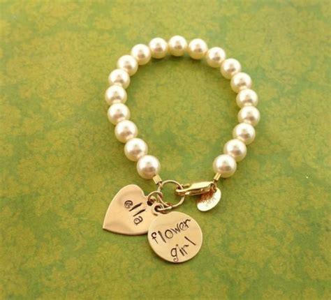 flower girl bracelet flower girl jewelry wedding gifts