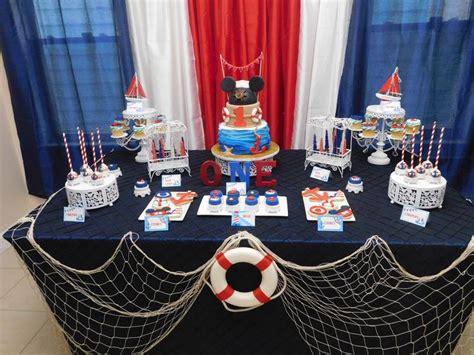 nautical party centerpieces ideas  pinterest