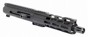 Ar15 Complete Upper Assembly  U2013 7 5 Inch    300 Aac    Side