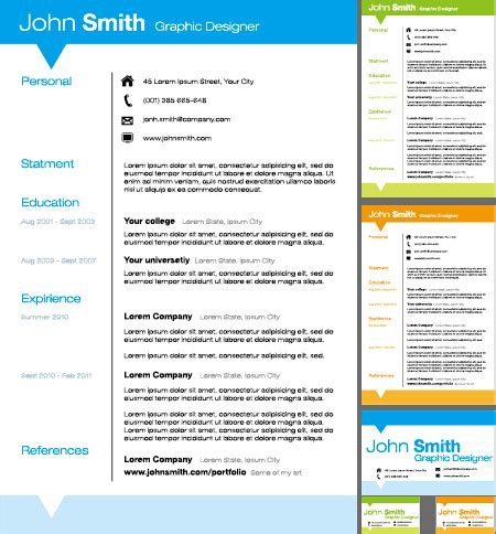 resume free vector download 58 free vector for