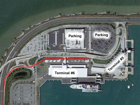 Port Canaveral Port Overview (Parking Terminals And Maps ...