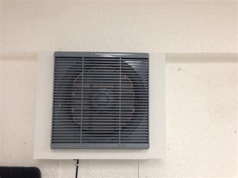 garage wall exhaust fan garage attic exhaust fan doityourself com community forums