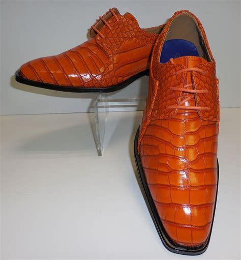 burnt orange dress shoes  men google search orange