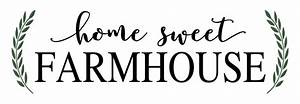 home sweet farmhouse stencil walltowallstencilscom With farmhouse letter stencils