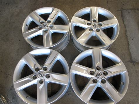 four 2012 2013 2014 factory toyota camry 17 wheels rims