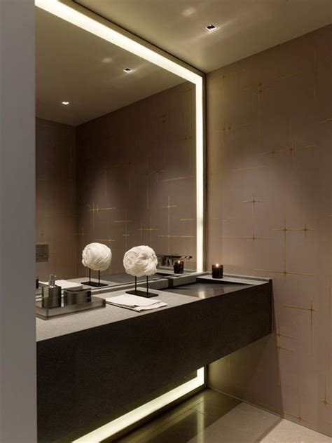 Cool Modern Bathroom Mirrors by 30 Cool Ideas To Use Big Mirrors In Your Bathroom Digsdigs