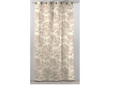 rideau en coton beige 30585 30586